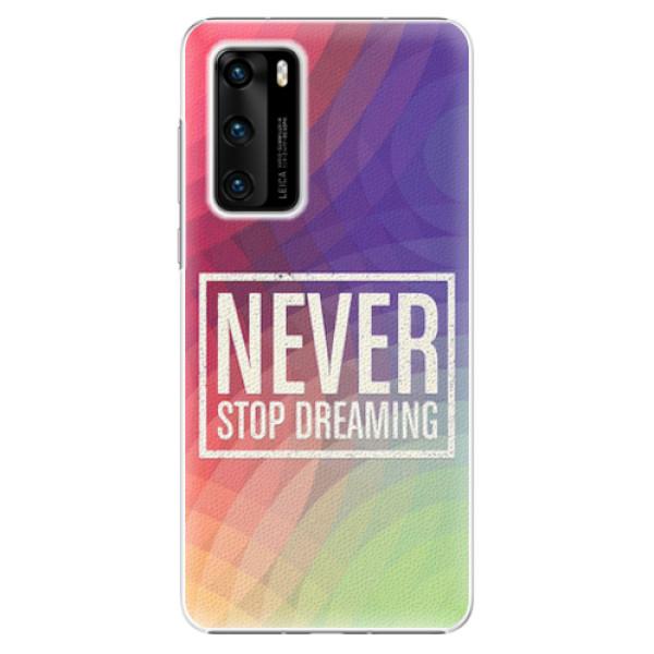 Plastové pouzdro iSaprio - Dreaming - Huawei P40