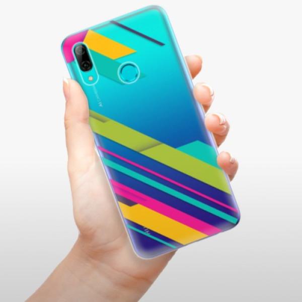 Odolné silikonové pouzdro iSaprio - Color Stripes 03 - Huawei P Smart 2019