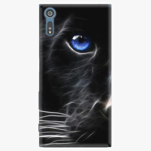 Plastový kryt iSaprio - Black Puma - Sony Xperia XZ