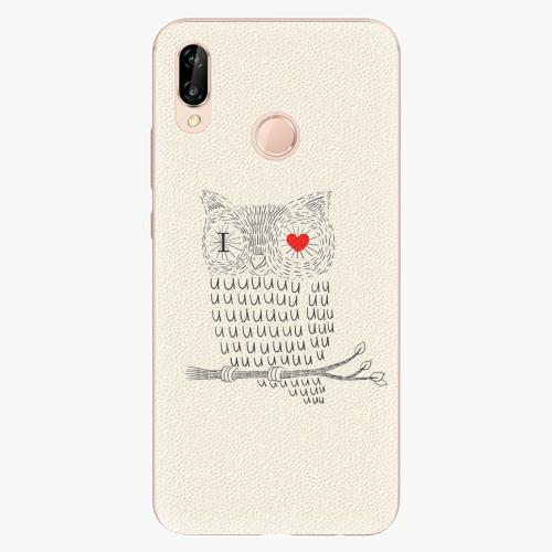 Plastový kryt iSaprio - I Love You 01 - Huawei P20 Lite