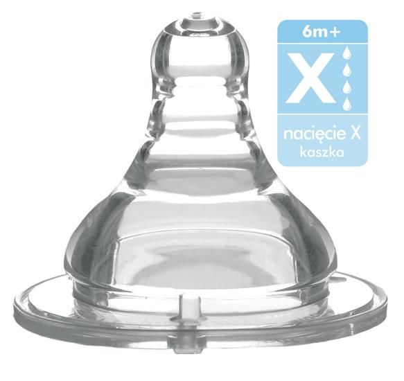 Antikoliková širokootvorová savička na kaši Baby Ono, 6m+