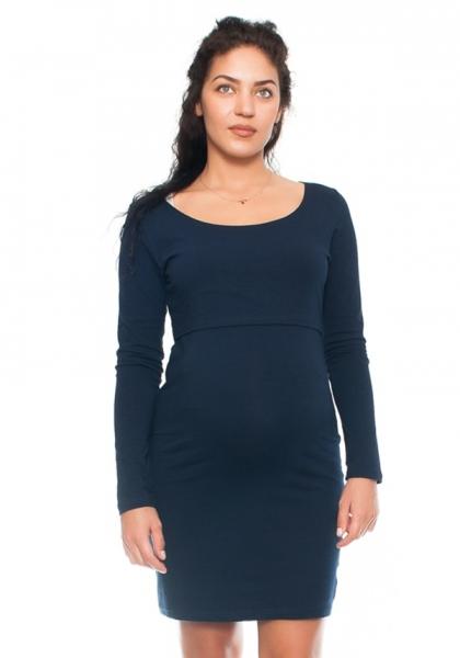 Be MaaMaa Elegantní těhotenské a kojící šaty Aszka