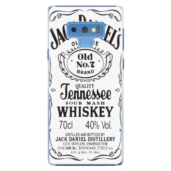 Plastové pouzdro iSaprio - Jack White - Samsung Galaxy Note 9