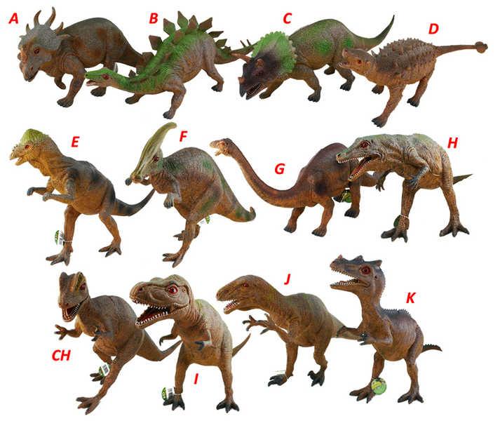 Dinosauři MAXI 45-51cm 6ass
