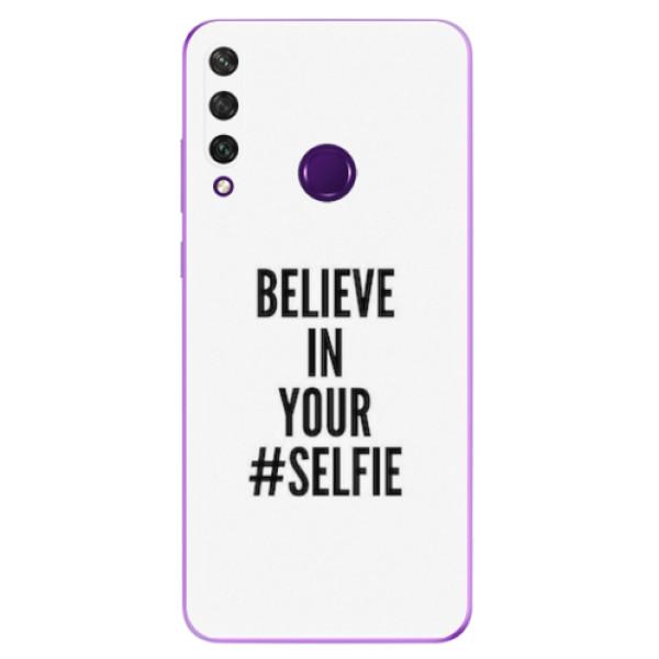 Odolné silikonové pouzdro iSaprio - Selfie - Huawei Y6p