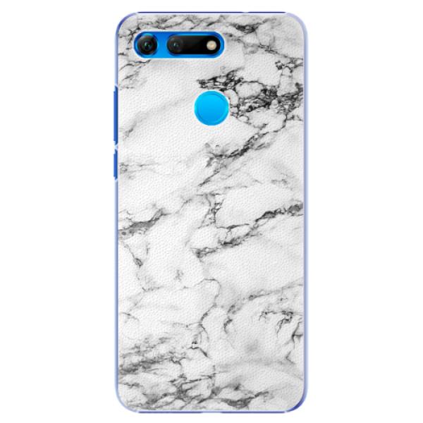 Plastové pouzdro iSaprio - White Marble 01 - Huawei Honor View 20