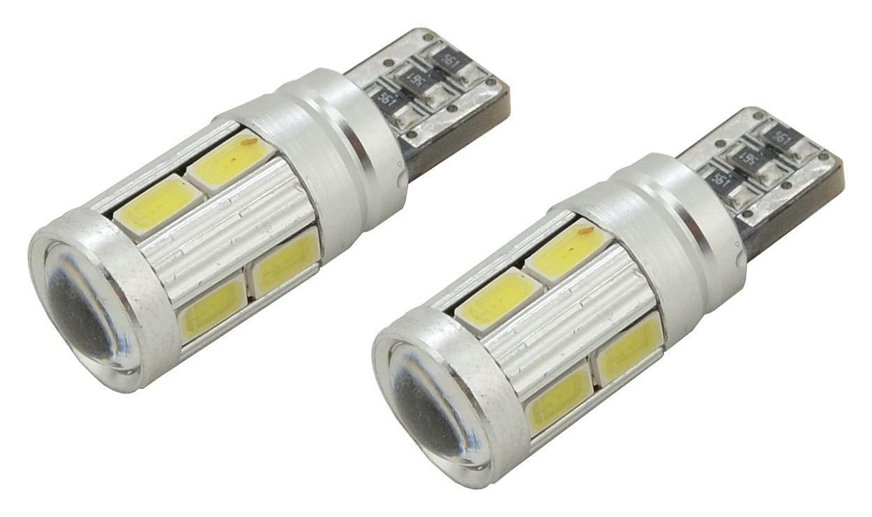 Žárovka 10 SMD LED 3chips 12V, T10 CAN-BUS ready bílá - 2ks