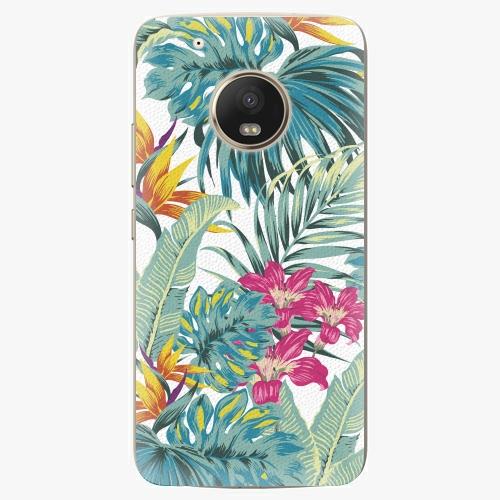 Plastový kryt iSaprio - Tropical White 03 - Lenovo Moto G5 Plus
