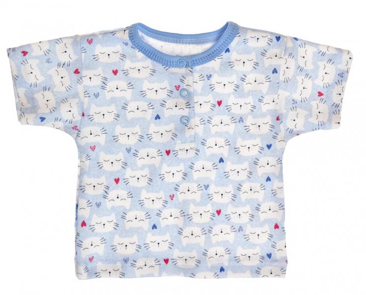 Bavlněné Polo tričko s krátkým rukávem Kočičky
