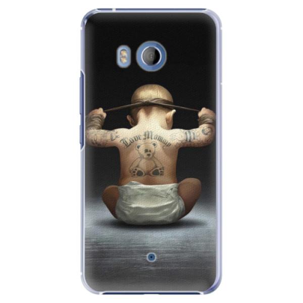 Plastové pouzdro iSaprio - Crazy Baby - HTC U11
