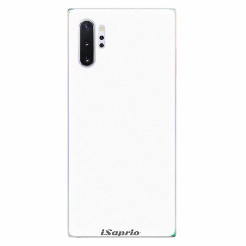 Silikonové pouzdro iSaprio - 4Pure - bílý - Samsung Galaxy Note 10+