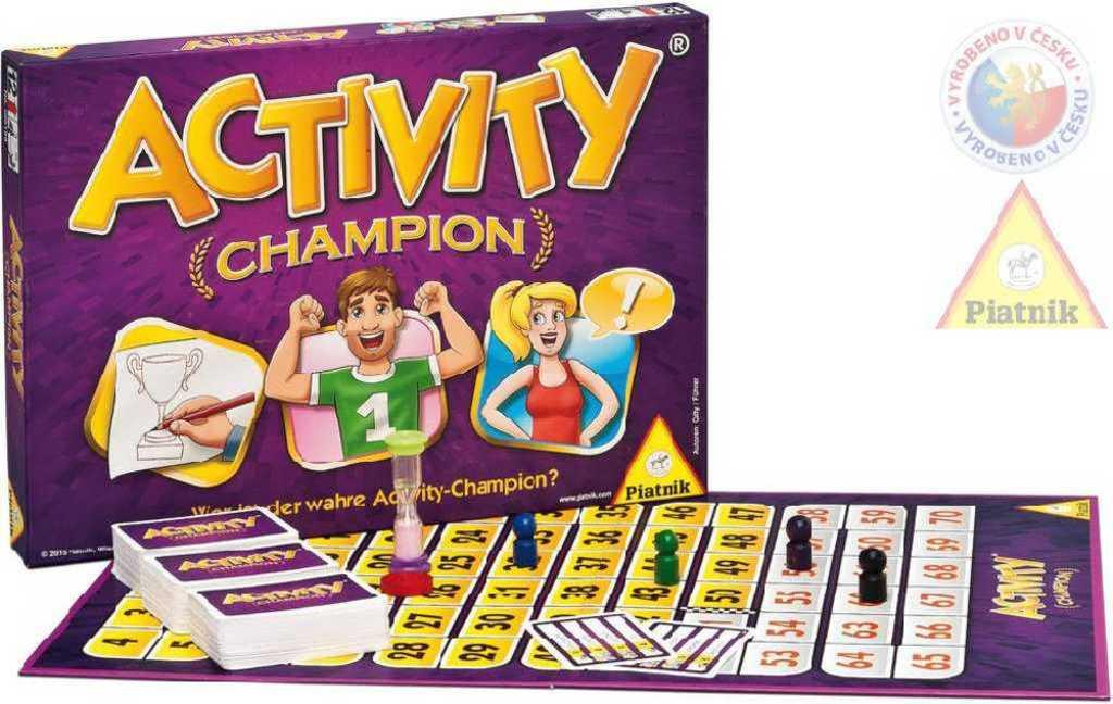 PIATNIK Hra ACTIVITY Champion CZ *SPOLEČENSKÉ HRY*