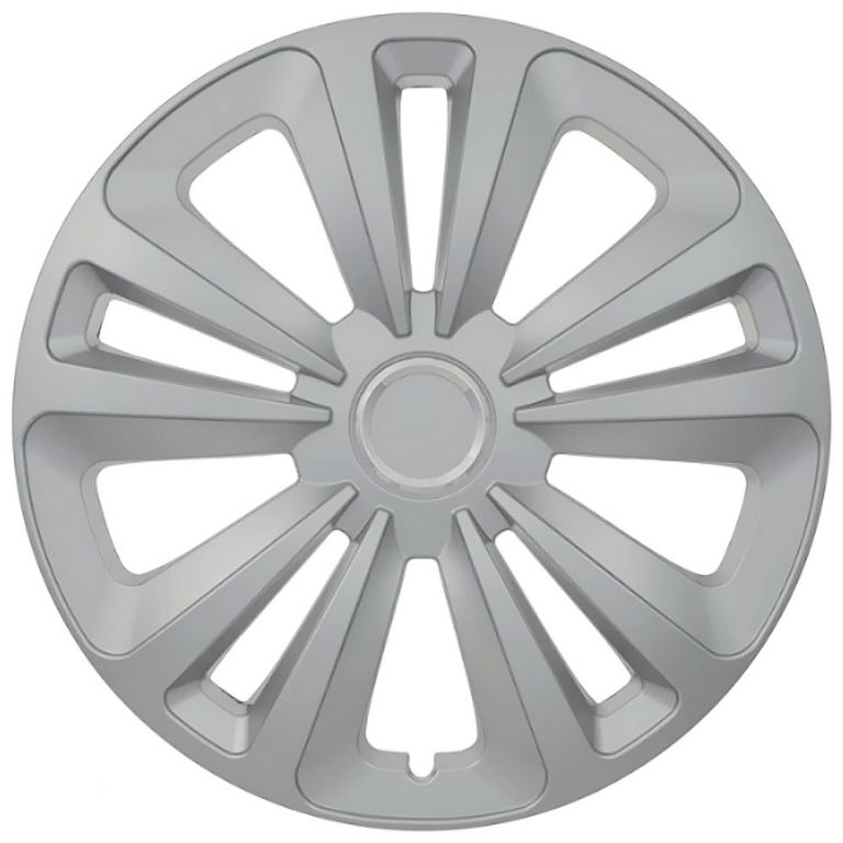"""Kryt kola Mig 15"""", jeden kus - stříbrná"""