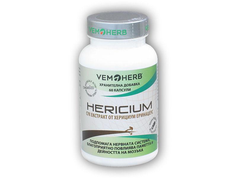 VemoHerb Hericium 60 kapslí