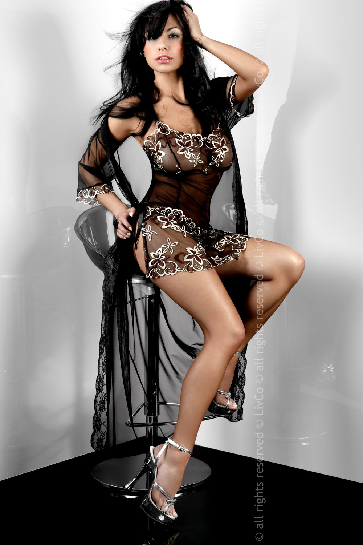 Župany model 22325 Livia Corsetti Fashion - L/XL