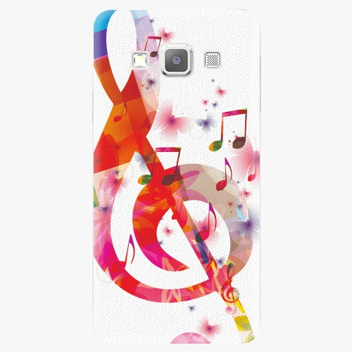 Plastový kryt iSaprio - Love Music - Samsung Galaxy A7