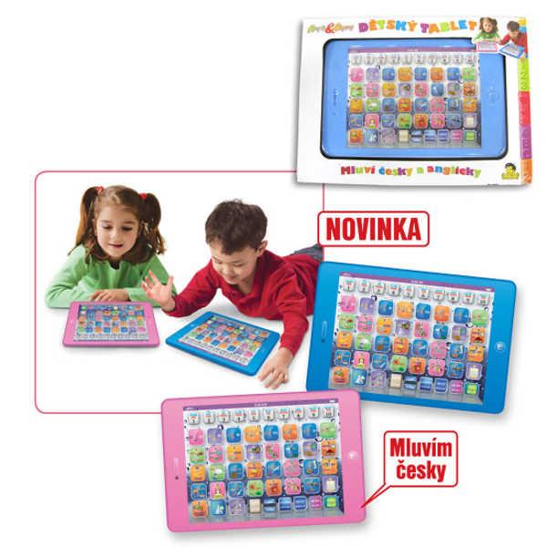 Baby TABLET dětský česko - anglický naučný pro děti