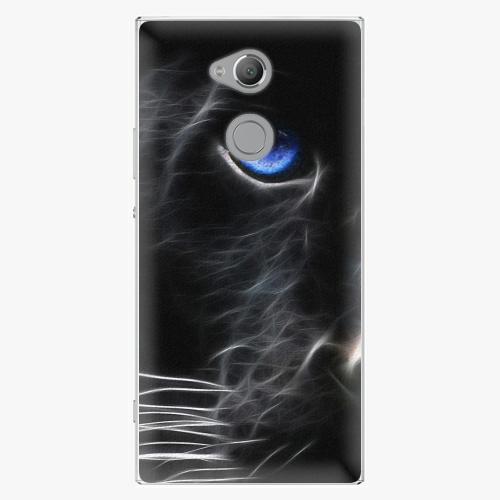 Plastový kryt iSaprio - Black Puma - Sony Xperia XA2 Ultra