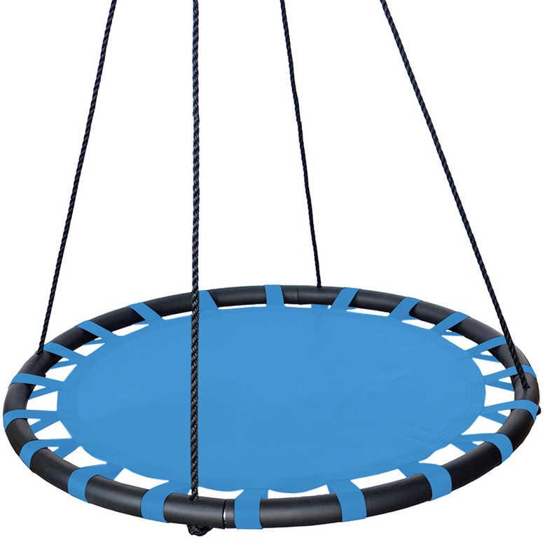 Houpačka dětská závěsný kruh 100 cm černá