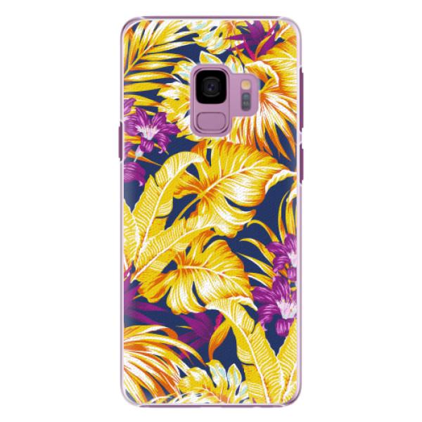 Plastové pouzdro iSaprio - Tropical Orange 04 - Samsung Galaxy S9
