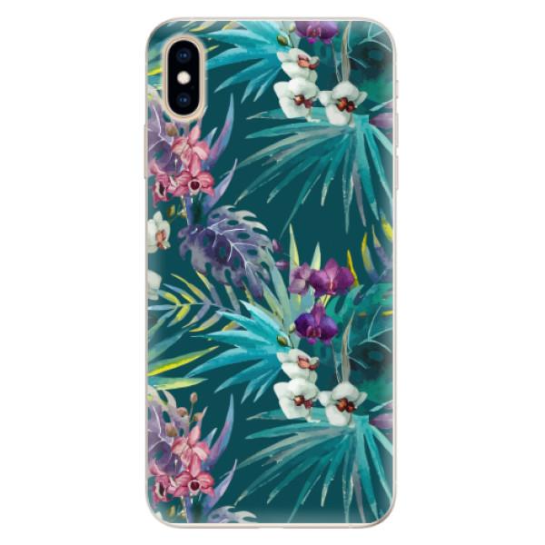 Silikonové pouzdro iSaprio - Tropical Blue 01 - iPhone XS Max