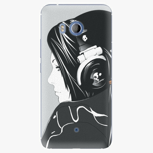 Plastový kryt iSaprio - Headphones - HTC U11