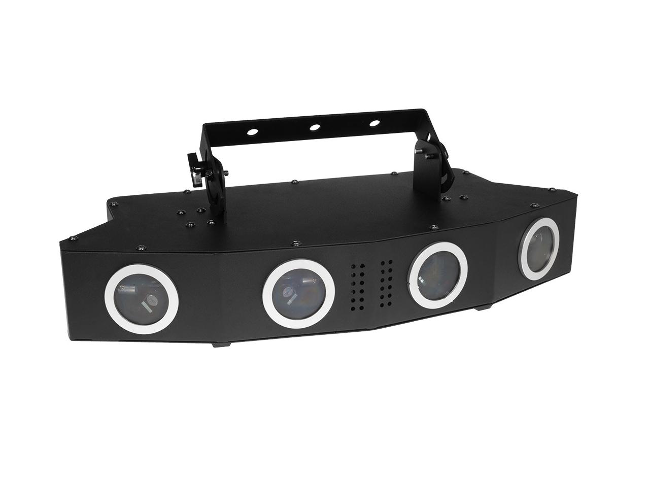 Laserworld EL-900RGB, laserový efekt 4v1, 900 mW, DMX