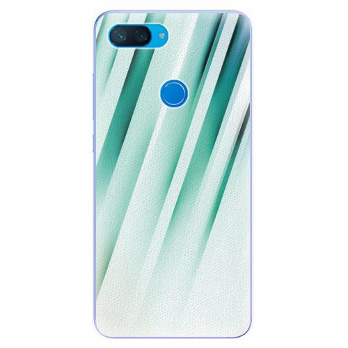 Silikonové pouzdro iSaprio - Stripes of Glass - Xiaomi Mi 8 Lite