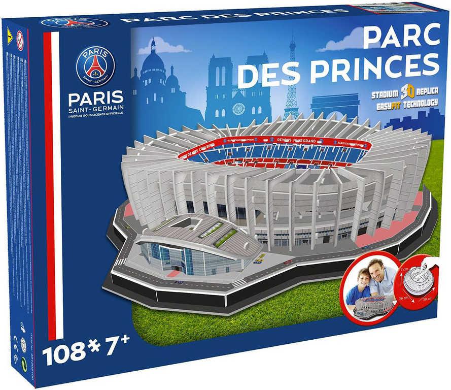NANOSTAD 3D Puzzle model fotbalový stadion Paris Saint-Germain francie 108 dílků