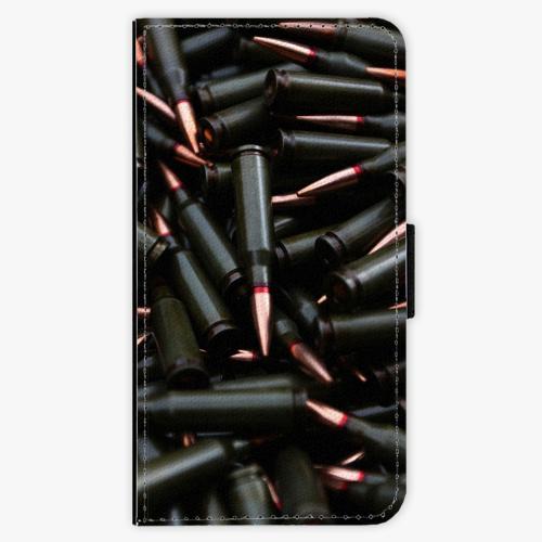 Flipové pouzdro iSaprio - Black Bullet - Lenovo Moto G5