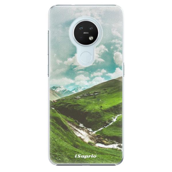 Plastové pouzdro iSaprio - Green Valley - Nokia 7.2
