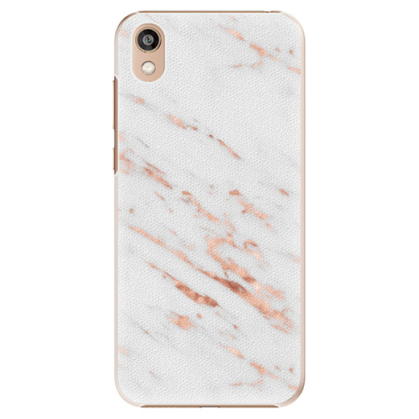 Plastové pouzdro iSaprio - Rose Gold Marble - Huawei Honor 8S