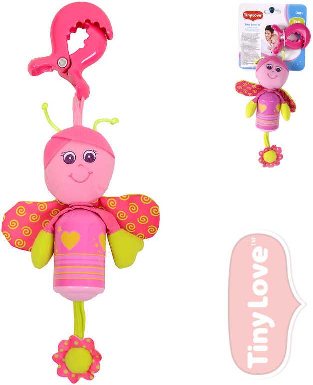 TINY LOVE Motýlek Betty Tiny Smarts baby s klipem pro miminko
