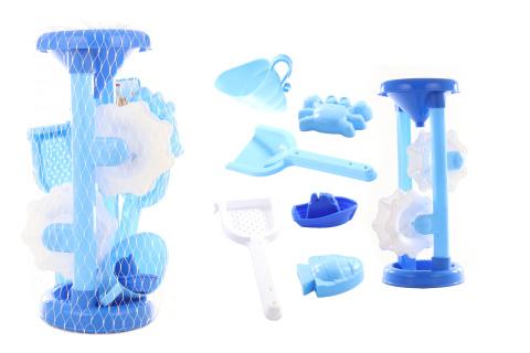 Mlýnek modrý s bábovkami
