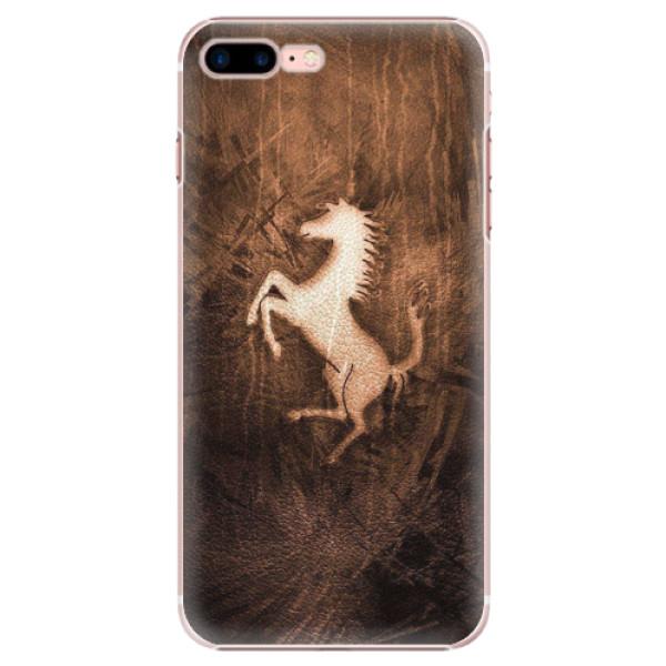 Plastové pouzdro iSaprio - Vintage Horse - iPhone 7 Plus