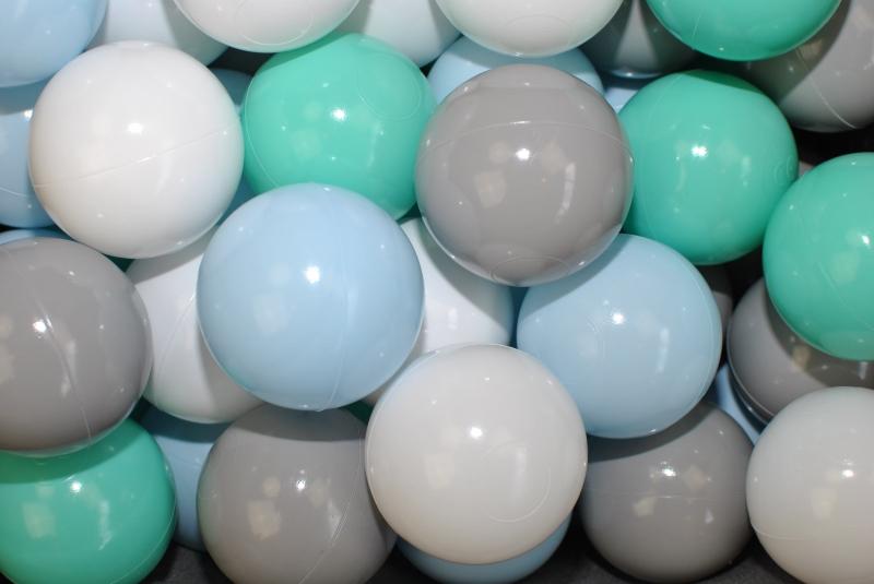 Náhradní balónky do bazénu - 200 ks, mix V