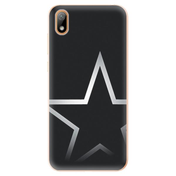 Odolné silikonové pouzdro iSaprio - Star - Huawei Y5 2019
