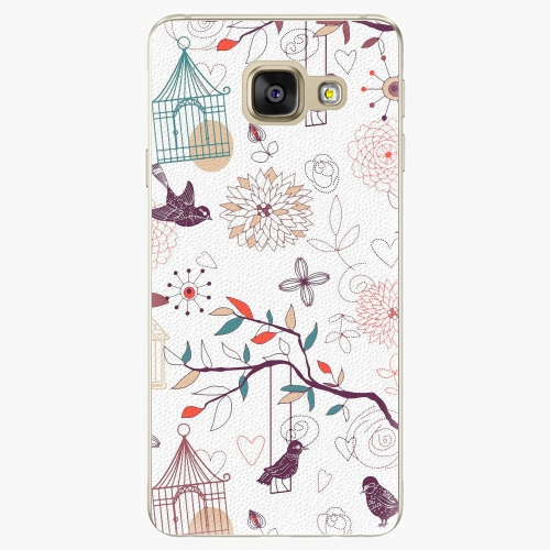 Plastový kryt iSaprio - Birds - Samsung Galaxy A3 2016