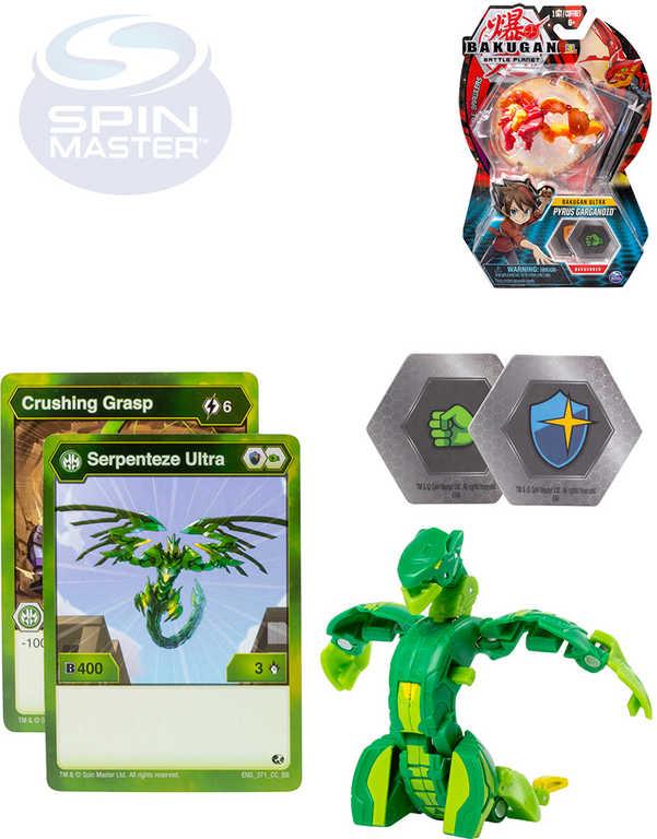 SPIN MASTER Bakugan ultra balení set bojovník s doplňky různé druhy plast