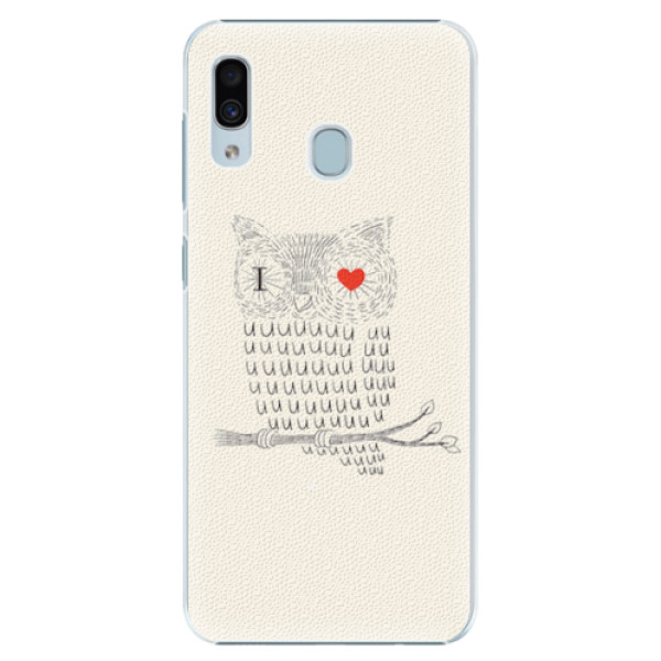 Plastové pouzdro iSaprio - I Love You 01 - Samsung Galaxy A30