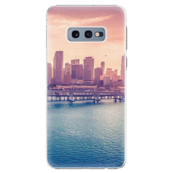Plastové pouzdro iSaprio - Morning in a City - Samsung Galaxy S10e