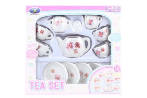 Čajový set porcelánový - motýlci