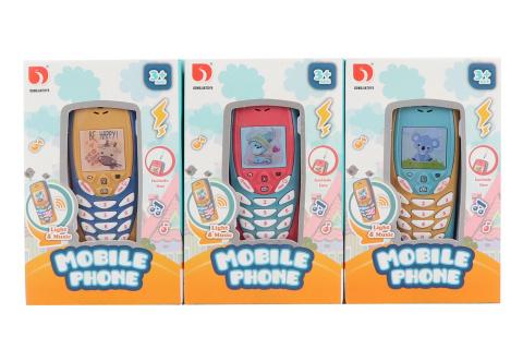 Mobilní telefon na baterie