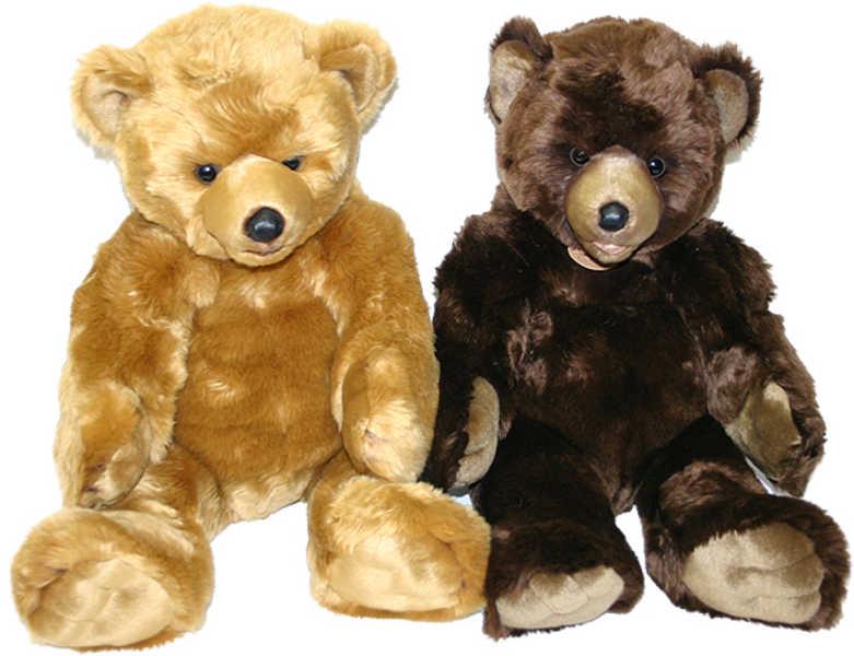 PLYŠ Medvěd 61 cm sedící