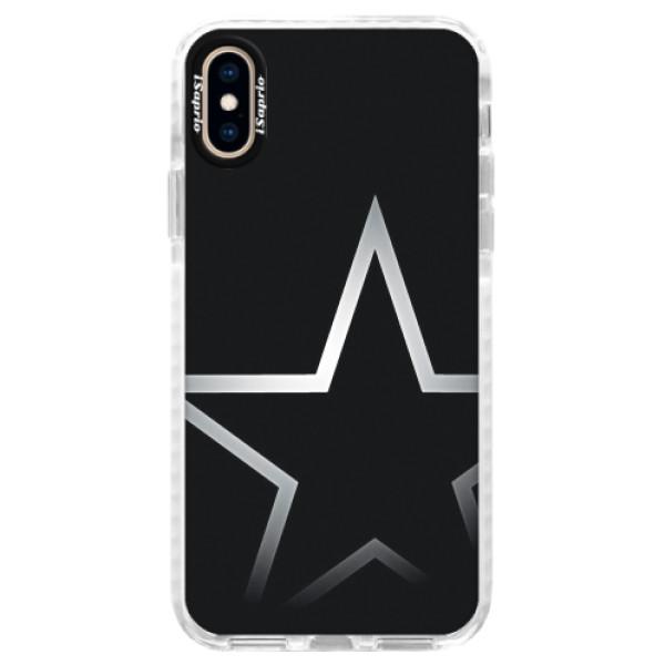 Silikonové pouzdro Bumper iSaprio - Star - iPhone XS