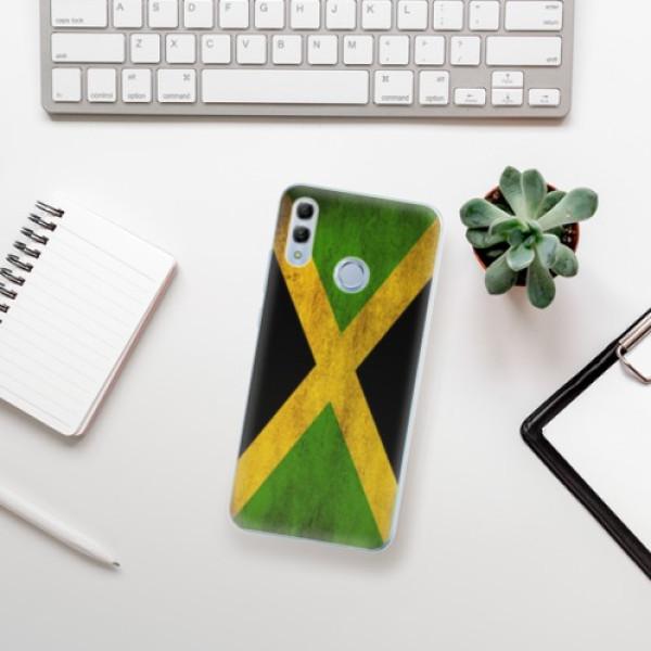 Odolné silikonové pouzdro iSaprio - Flag of Jamaica - Huawei Honor 10 Lite