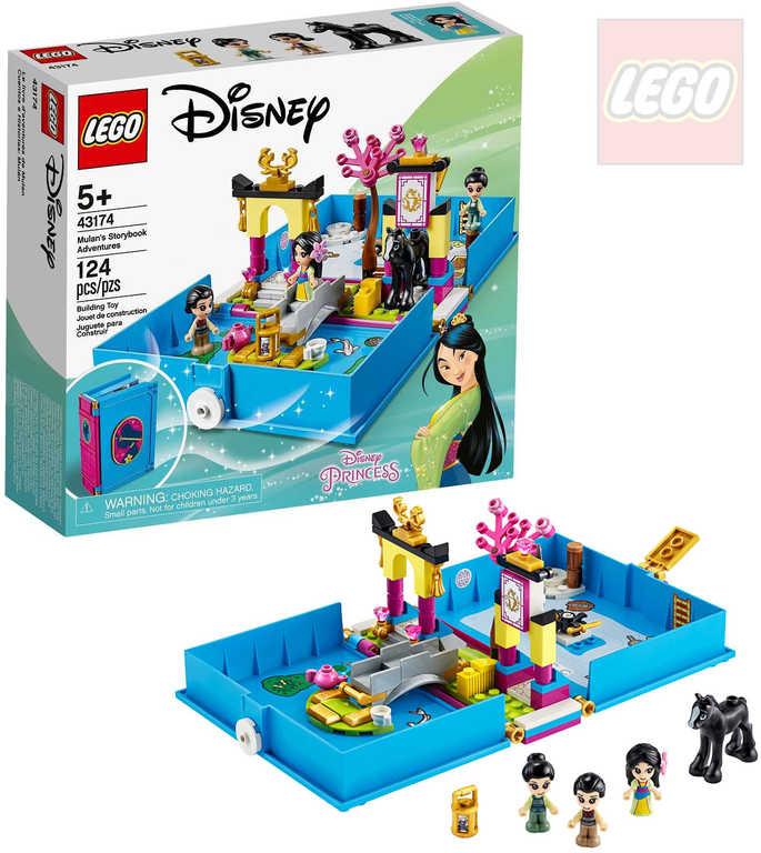 LEGO PRINCESS Mulan a její pohádková kniha dobrodružství 43174 STAVEBNICE