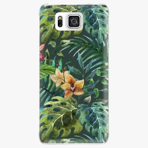 Plastový kryt iSaprio - Tropical Green 02 - Samsung Galaxy Alpha