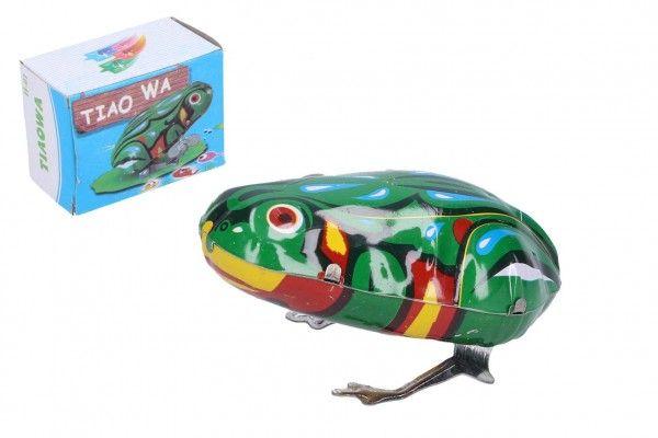 Natahovací kovová žába, 7 x 5 cm