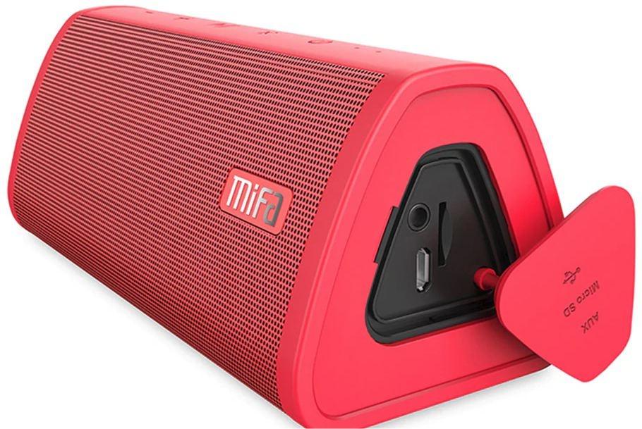 Přenosný reproduktor Mifa - Červená